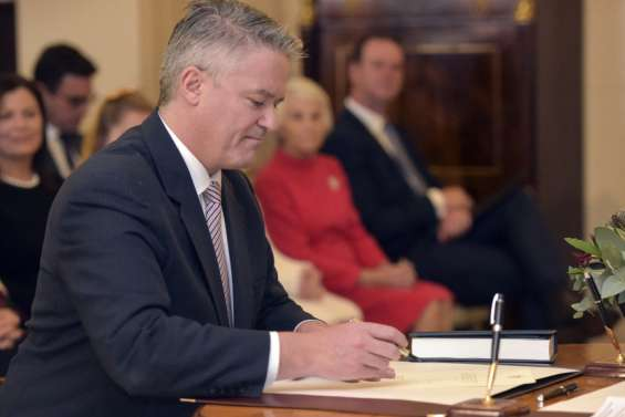 L'Australien Mathias Cormann va prendre la tête de l'OCDE