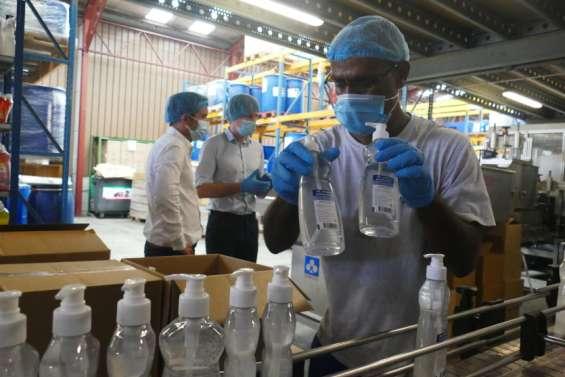 Vega relance sa production de désinfectant hydroalcoolique