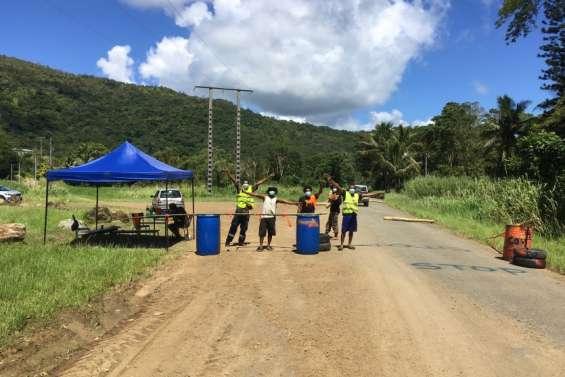 Des barrages filtrants à l'entrée des vallées de Ponérihouen et de Poindimié