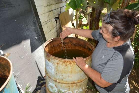 Squat privé d'eau: une
