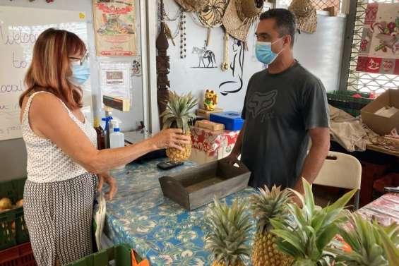 Sur les marchés du Grand Nouméa,  des exposants soulagés