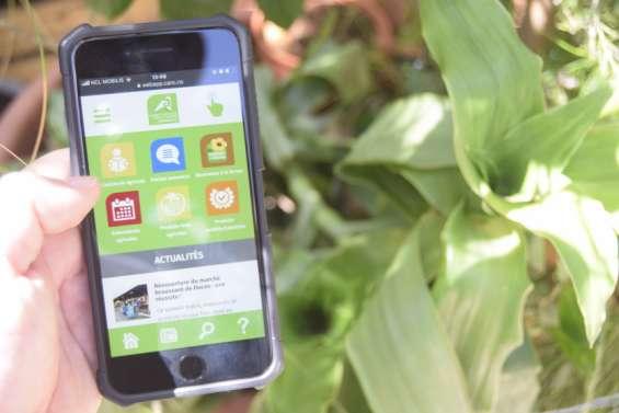 La Chambre d'agriculture lance uneweb application