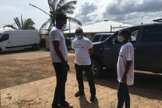 Action solidaire collecte des dons pour les sinistrés de Niran