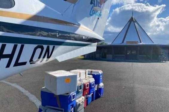 Deux tonnes de denrées alimentaires ont été livrées à Tiga