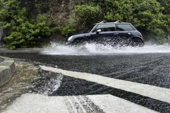 Alerte rouge orages et fortes pluies à Yaté, Thio et Canala ce samedi matin