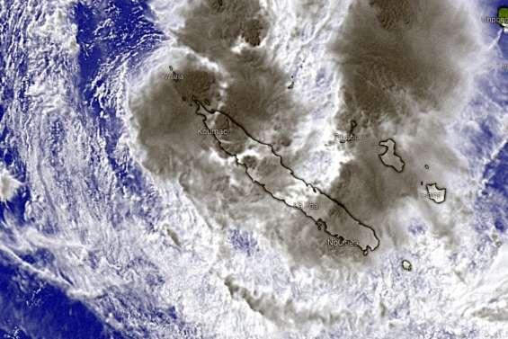 La dépression tropicalearrive dans le Nord