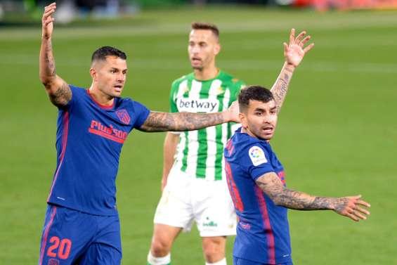 L'Atlético sous pression