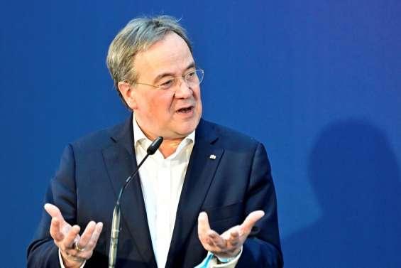 Armin Laschet confiant d'être choisi en vue de succéder à Angela Merkel