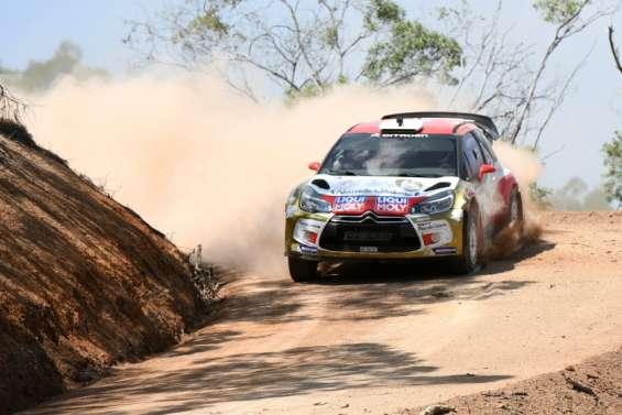 Rallye : à Païta, les pilotesveulent prendre de la vitesse