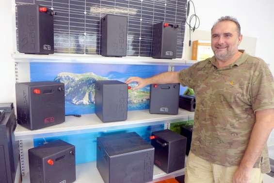 Nouméa : des batteries au lithium assemblées localement et sur mesure