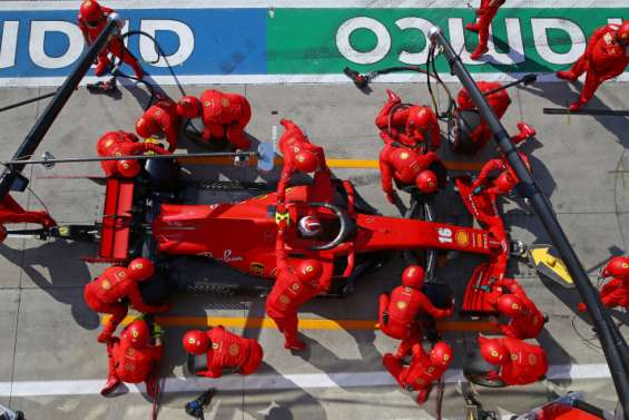 Ferrari etAlphaTauri à domicileauGrand Prix d'Émilie-Romagne