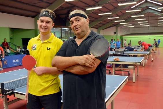 Tennis de table: Ronan Aubry gagne la Coupe d'ouverture