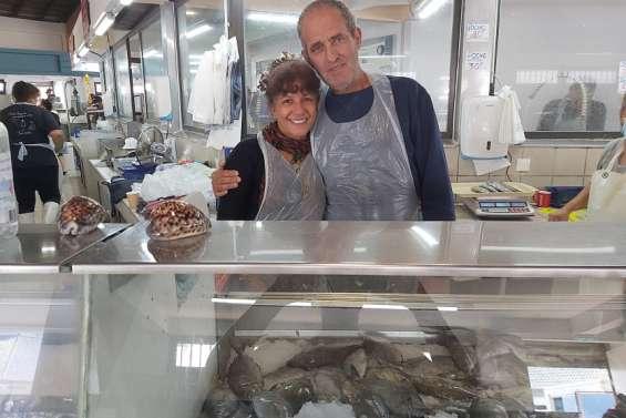 Dominique et Myriam, Pêcheur et vendeurs