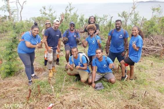 Mocamana a planté 1 000 arbres au fort Tereka, samedi
