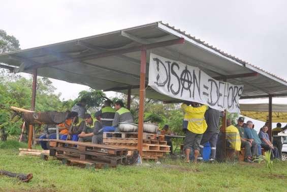 La grève se poursuit  à Doniambo