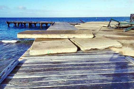 Une subvention pour la réfection du wharf de Tiga