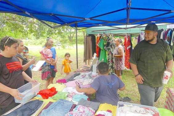 Les vide-greniers sont de retour au village océanien