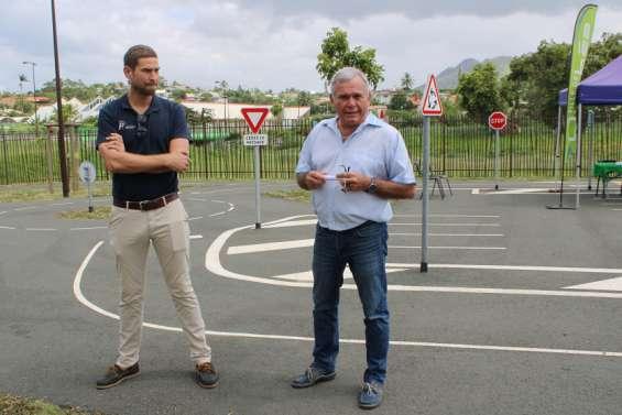 Ouverture au public de la piste de sécurité routière
