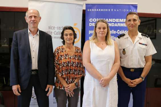 Les gendarmes participent aussi à la vie scolaire