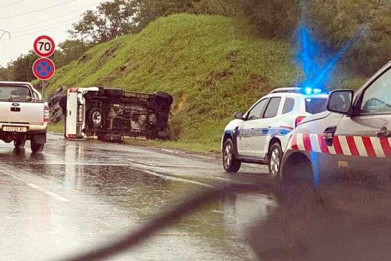 Un pick-up accidenté sur la Savexpress provoque de forts ralentissements