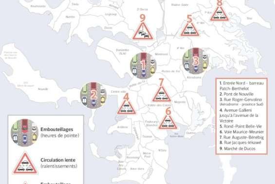Comment Nouméa s'organise pour fluidifier le trafic en ville