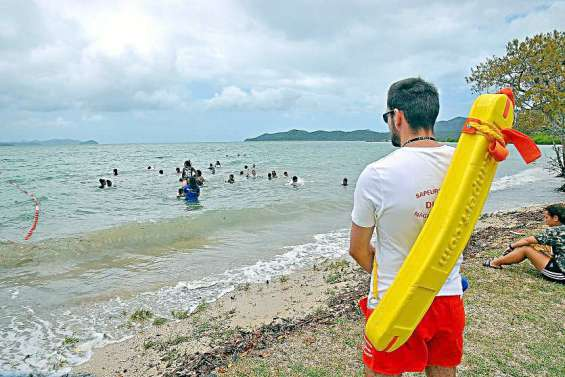 Dumbéa: Baignade interdite à la plage de Nouré