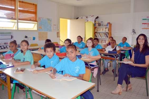 Bourail : les écoliers de CM1 A de Louise-Michel apprennent à lire plus vite