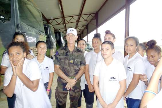 La nouvelle classe Défense a été reçue au camp militaire de Nandaï