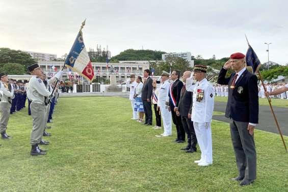La cérémonie du 8mai célébrée à Nouméa