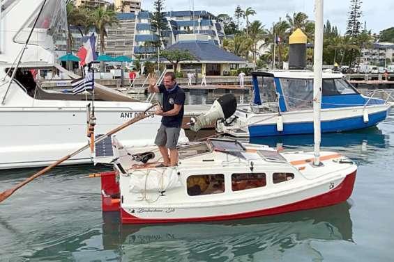 [VIDÉO] Tour du monde en solitaire: Yann Quénet a quitté Nouméa