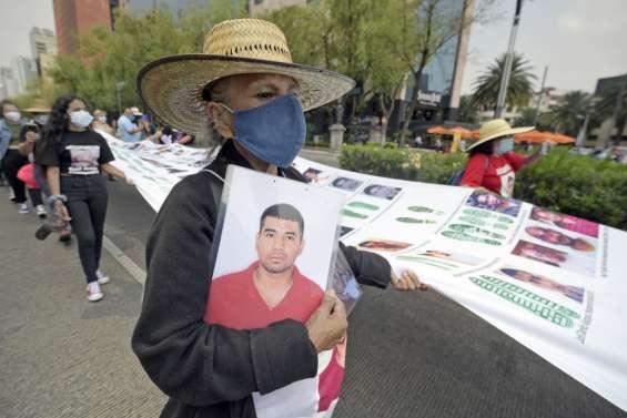 Les mères de disparus réclament justice