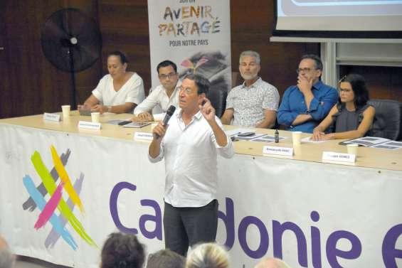 Calédonie ensemble : «Il faut donner une chance ultime au dialogue»