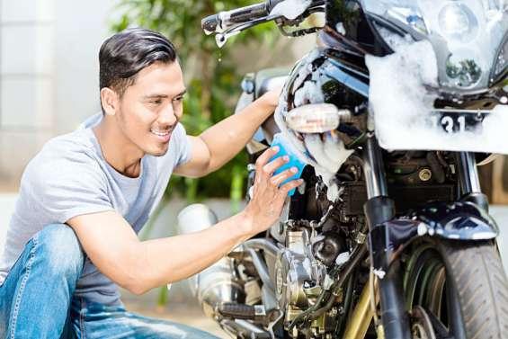 Prendre soin de sa moto