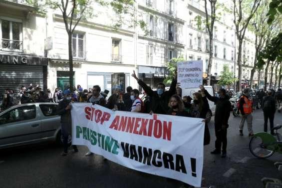 Les soutiens aux Palestiniens ont commencé à se rassembler à Paris malgré l'interdiction