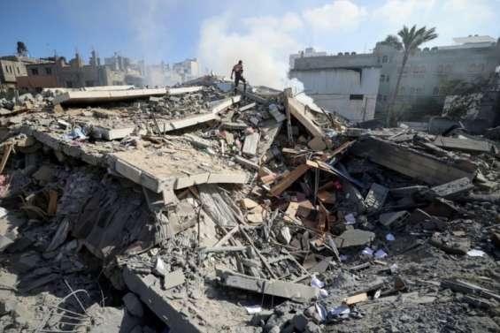 L'immeuble de AP et Al-Jazeera à Gaza pulvérisé par une frappe israélienne