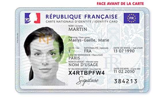 Changement de format pour la carte d'identité