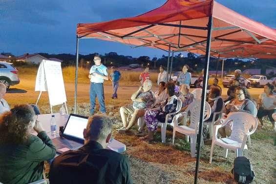 La Foa : Les Lilasouvrent les réunions de quartier