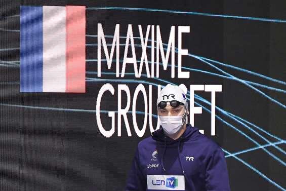 Natation: Maxime Grousset cale sur 50 mètres papillon