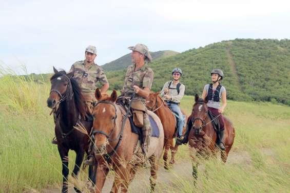 Trois nouveaux sentiers équestres bientôt ouverts au domaine de Déva
