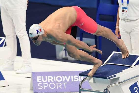 Natation: Maxime Grousset enfinale européenne sur 50 mètres