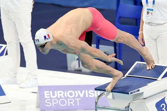 Maxime Grousset 7e européen sur 50m