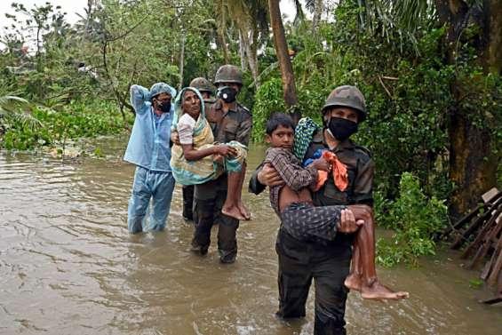 Inde: le cyclone Yaas fait au moins cinq morts et des milliers de sans-abri