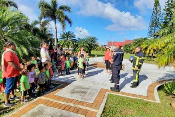 Une simulation de fuite de gaz à l'école maternelle