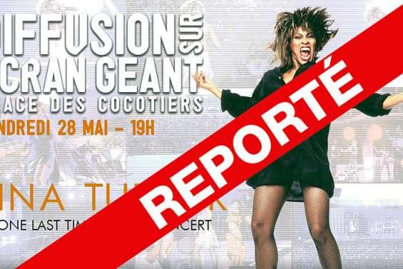 Nouméa: la diffusion du concert de Tina Turner reportée