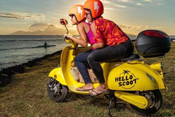 Une appli pour louer des scooters à Papeete