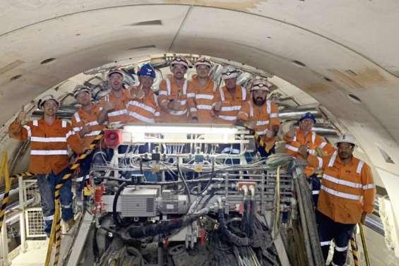 À Melbourne, le chantier du métro avance