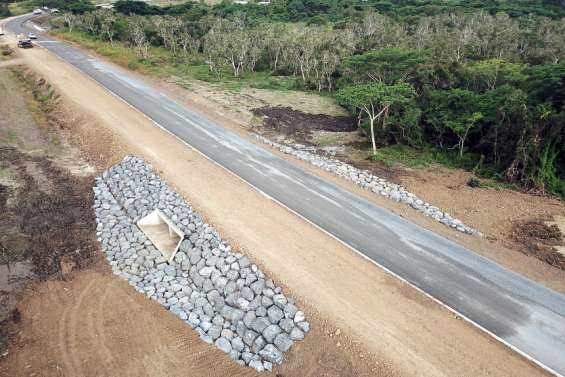 La nouvelle route provinciale qui mène au lycée sera mise en service en août