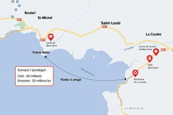 Mont-Dore : un viaduc à 60milliards, piste privilégiée pour contourner la RP1