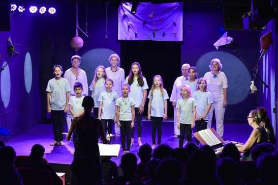 Les petits chanteurs d'Amadeussur scène