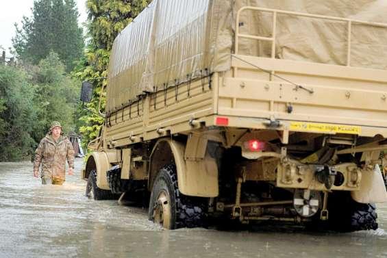 Inondations en Nouvelle-Zélande: l'armée en renfort pouraider les évacuations